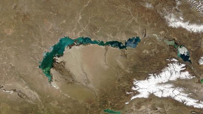 Balchaschsee: Kasachstans Ozean droht zu verschwinden