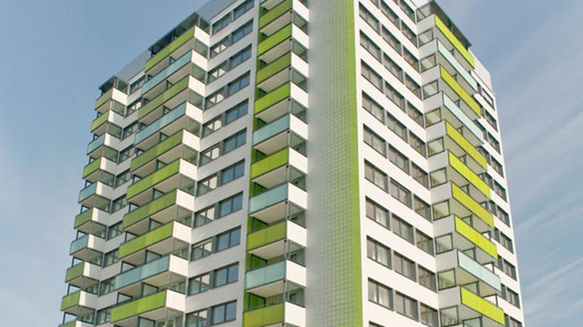 Energiesparen: Vom grauen Betonklotz zum grünen Passivhochhaus