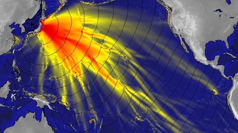 Naturkatastrophen: GPS-Daten könnten Tsunami-Warnsysteme verbessern