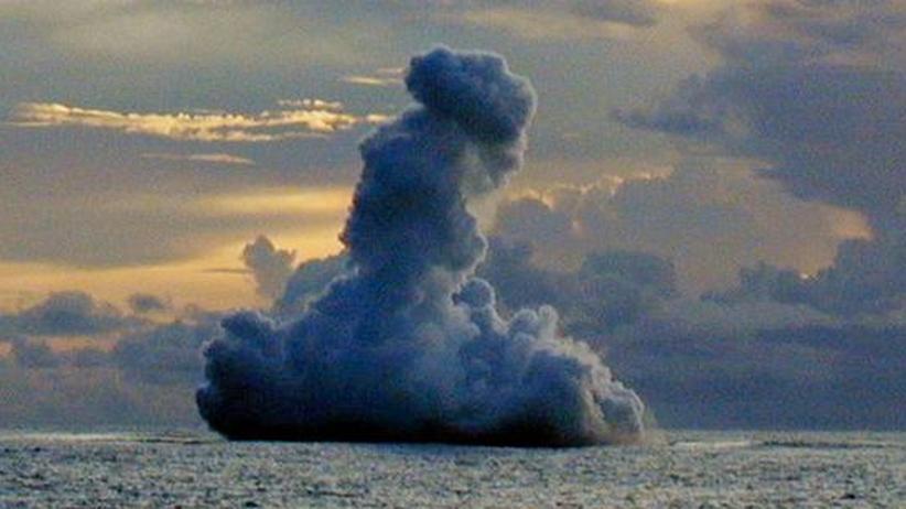 Pazifik: Tiefseevulkan pulsiert rekordverdächtig