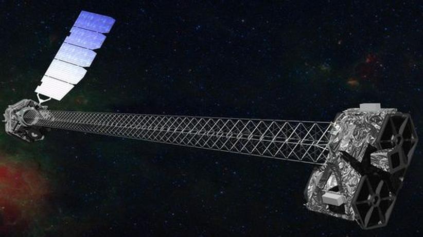 """Teleskop """"Nustar"""": Mit Röntgenblick nach schwarzen Löchern jagen"""