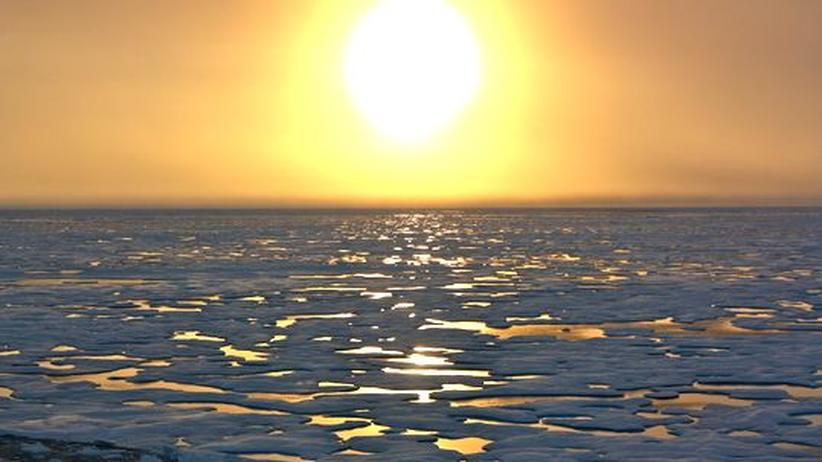 """Nordpolarmeer: """"Die Eisschmelze in der Arktis ist weiter auf Rekordkurs"""""""