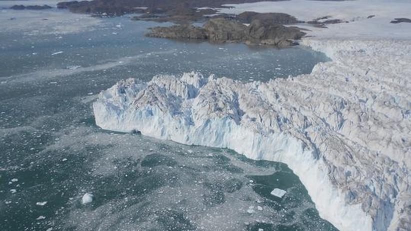 Arktis: Dramatische Eisschmelzen in Grönland könnten normal sein