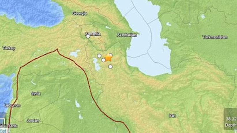 Naturkatastrophe: Schweres Erdbeben im Iran mit vielen Todesopfern