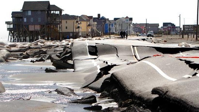 """Sandys Zerstörung: """"Das Schlimmste, das wir je gesehen haben"""""""