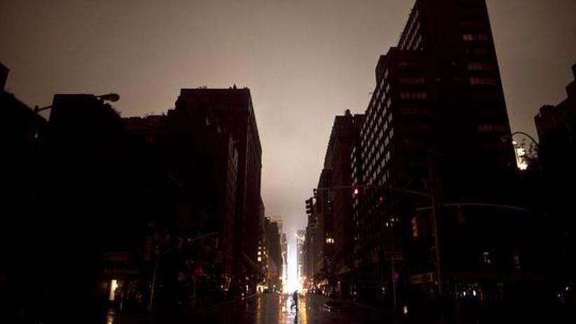 New York Sandy Hurrikan Tropensturm