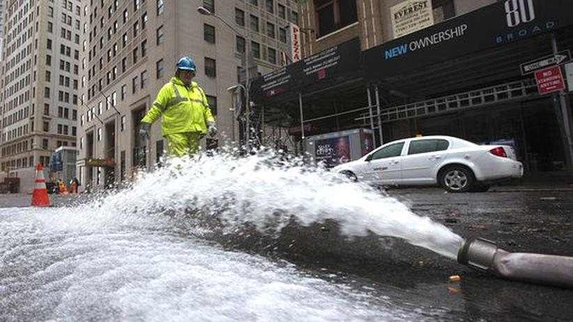 Wasserpumpe in Manhattan