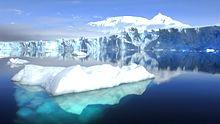 Der Sheldon-Gletscher auf der Adelaide-Insel in der Antarktis