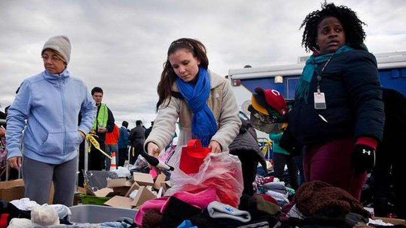 US-Ostküste: Auf Wirbelsturm Sandy folgt die Kälte