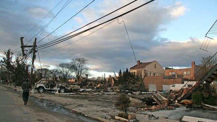 """Wirbelsturm Sandy: """"Wir an der Küste sind ersetzbar, die in Manhattan nicht"""""""
