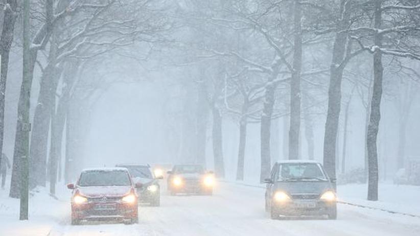 Wetter: Schneefall in ganz Deutschland und bittere Kälte