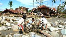 Taifun Philippinen Klimawandel Naturkatastrophe Hochwasser
