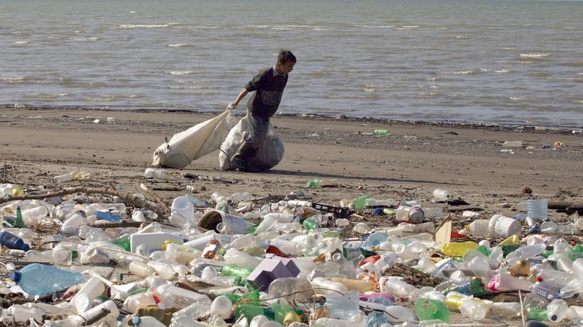 Müll Verschmutzung Meer Plastik