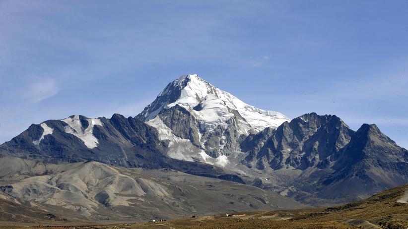 Klimawandel: Bolivien fürchtet um seine Gletscher