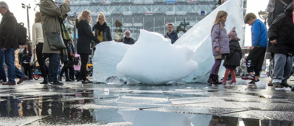 IPCC-Report Klimwandel Kopenhagen Eisberg