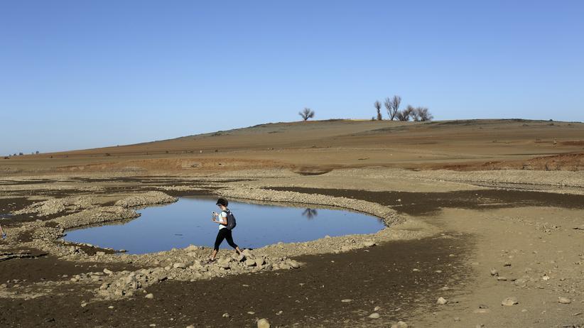 In Kalifornien wird das Wasser knapp.