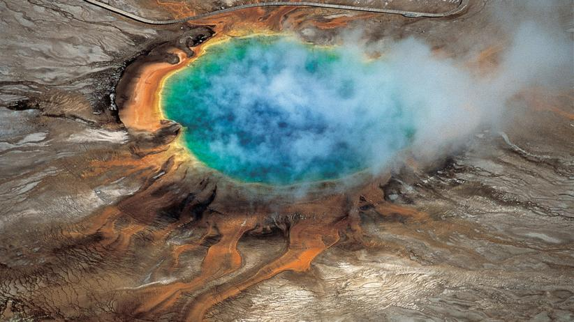 Yellowstone Nationalpark Vulkan Supervulkan Quelle