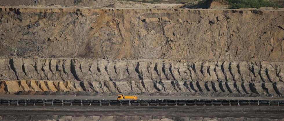 Braunkohle Tagebau Deutschland Kohle Energie Wirtschaft
