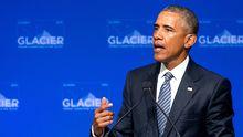 US-Präsident Barack Obama bei einer Klimakonferenz in Anchorage, Alaska