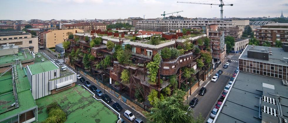Verde25 Wohnen Zukunft Architektur Baumhaus
