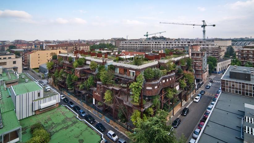 Wissen, Architektur, Ökoarchitektur, Wohnen, Natur, Turin, Gebäude, Rem Koolhaas