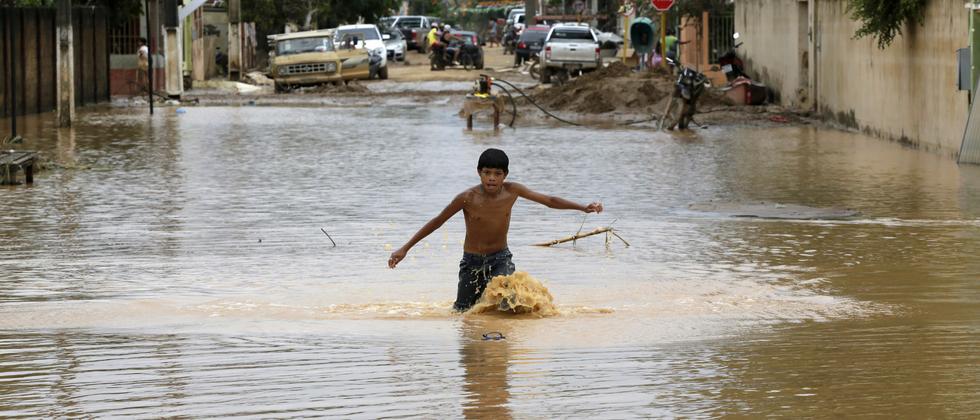 El-Nino-Flut-Südamerika-Bolivien