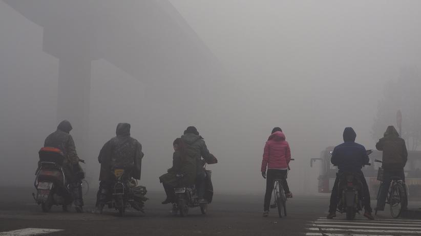 Die chinesische Hauptstadt Peking ist in Smog gehüllt.