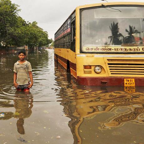 Indien: Waten durch die Millionenstadt