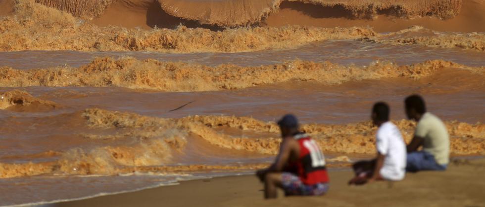 Rio Doce, Brasilien, Fluss, Umweltverschmutzung