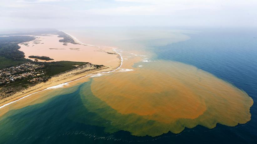 Rio Doce Umweltkatastrophe Brasilien Schwermetalle Minenunglück Bergbau