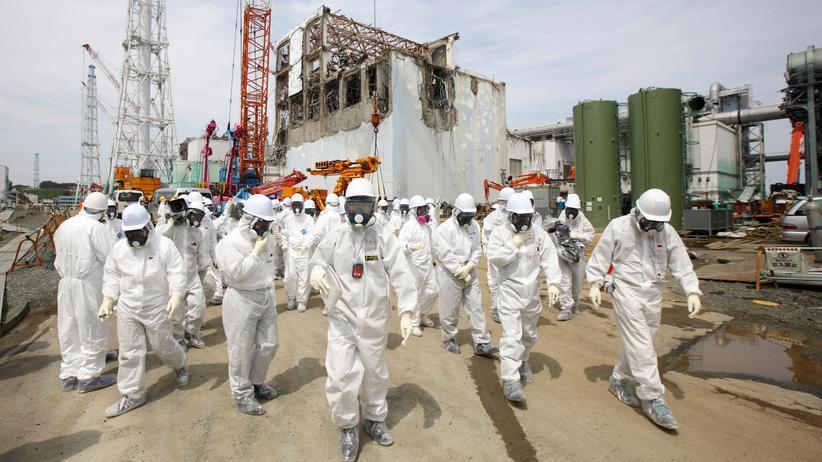 Nuklearkatastrophe von Fukushima: Das havarierte Atomkraftwerk in Fukushima