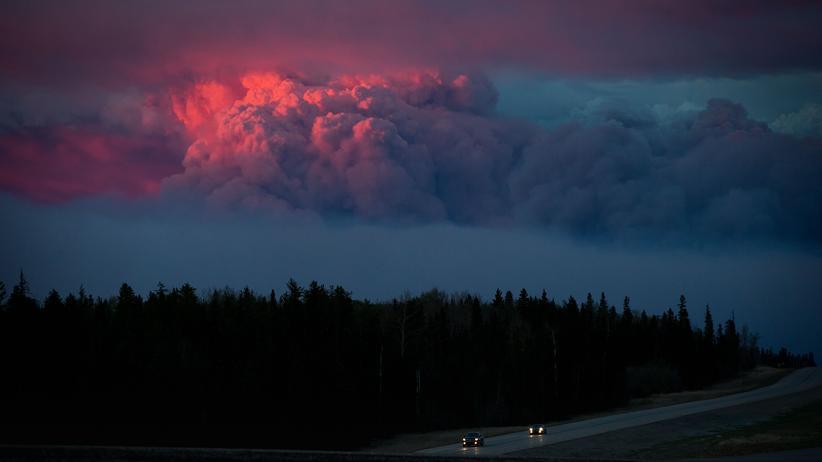 Alberta: Eine Stadt auf der Flucht vor dem Brand