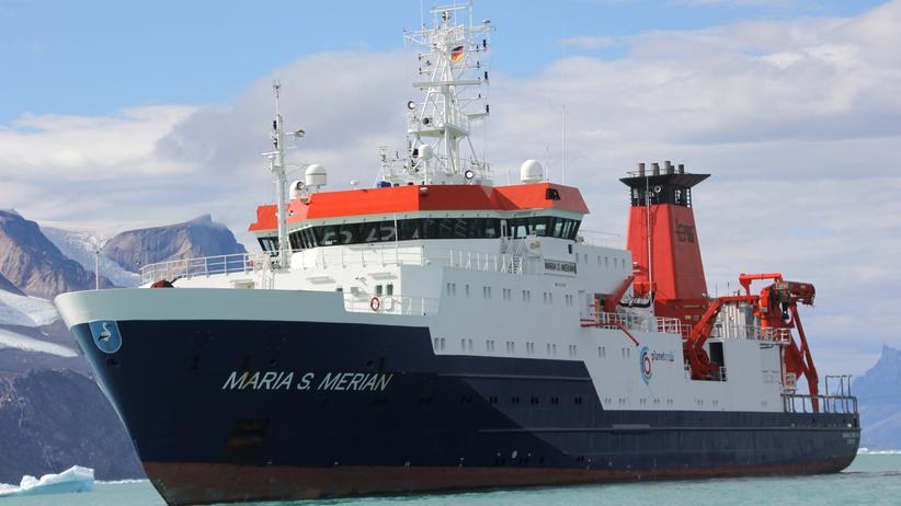 """Klimawandel: Das Forschungsschiff """"Maria S. Merian"""""""