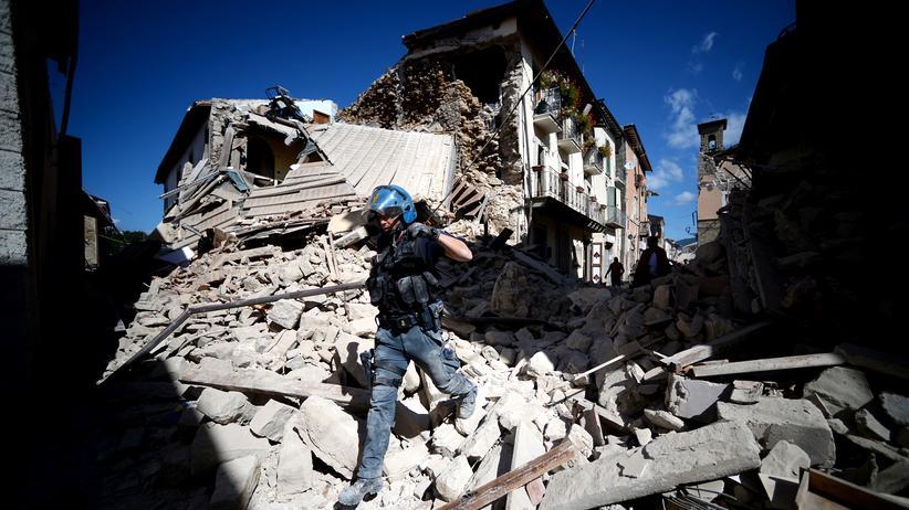 Erdbeben in Italien: Europa ist Erdbeben-Gebiet