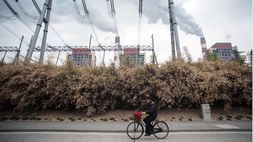 Klimapolitik: Ein Kohlekraftwerk in Shanghai