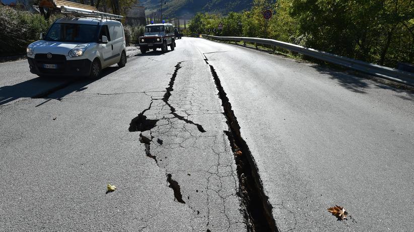 Erdbeben in Italien: Italien drohen jetzt noch häufiger Beben