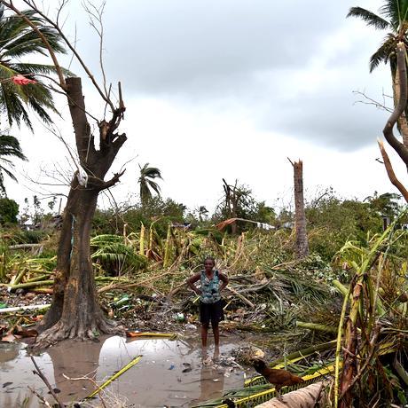 Hurrikan Matthew Karibik USA Wirbelsturm Klimawandel