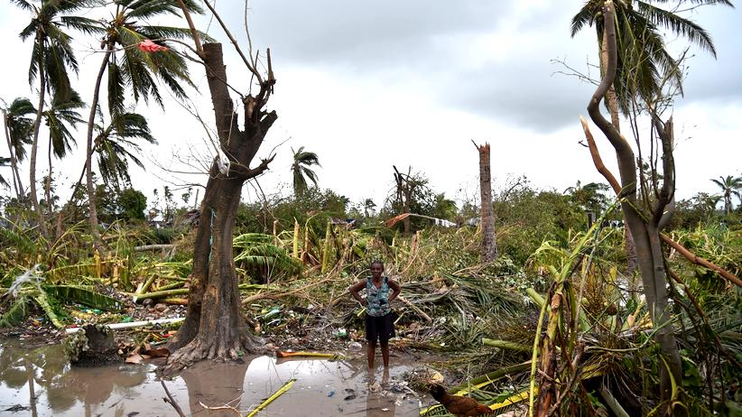 Hurrikan Matthew Karibik USA Wirbelsturm Klimawandel Haiti