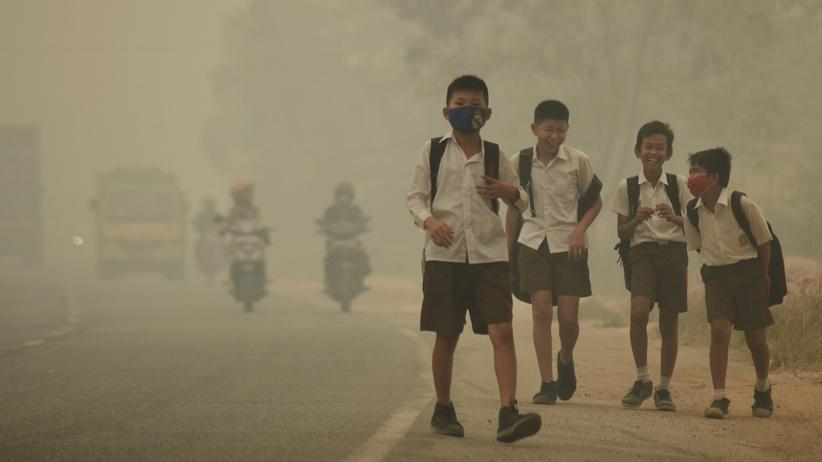 Luftverschmutzung: Schlechte Luft macht Kinder weltweit krank