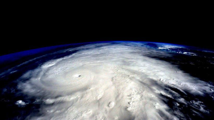 Klimawandel: Nasa-Aufnahme eines Hurricans in Mexiko