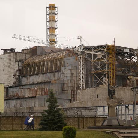 Tschernobyl Sarkophag Atomkraft
