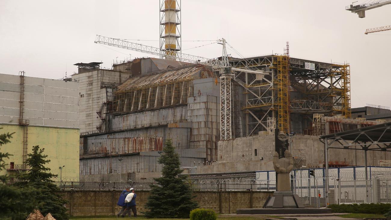 Tschernobyl Sarkophag Fertigstellung