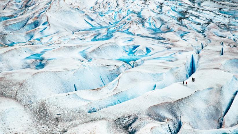 Klimawandel: Schrebergarten, tiefgefroren