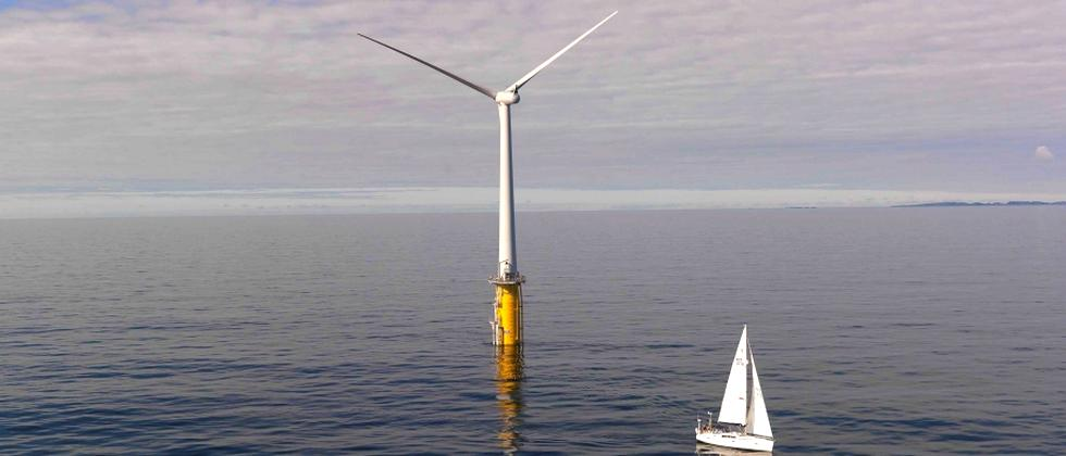 Offshore Windparks Erneuerbare Energien schwimmende Windkraft