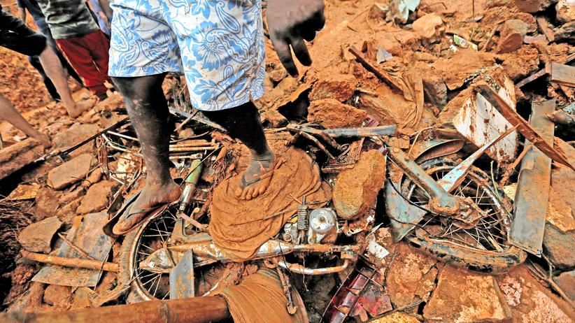 Sri Lanka Erdrutsch