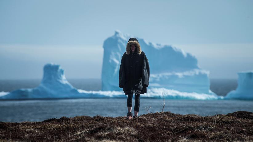 Klimaabkommen: Die Zahl der vorbeifließenden Eisberge vor der Küste Neufundlands könnte der Klimawandel vielleicht erhöhen.