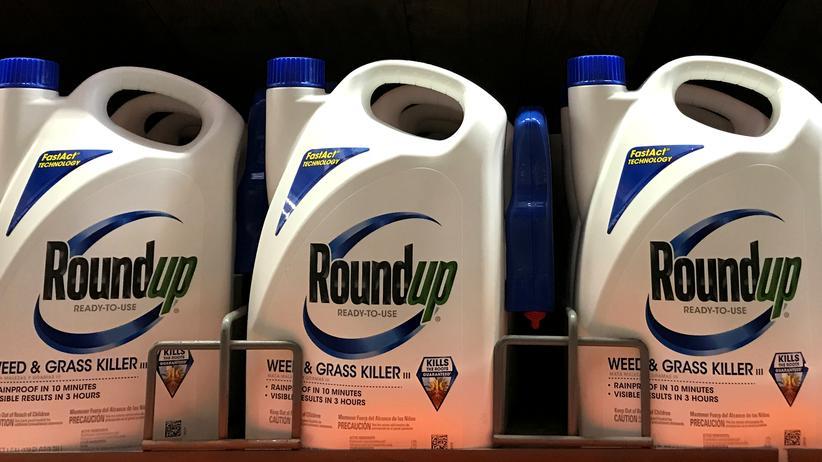 Unkrautvernichter: Monsantos Unkrautvernichtungsmittel Roundup enthält Glyphosat.