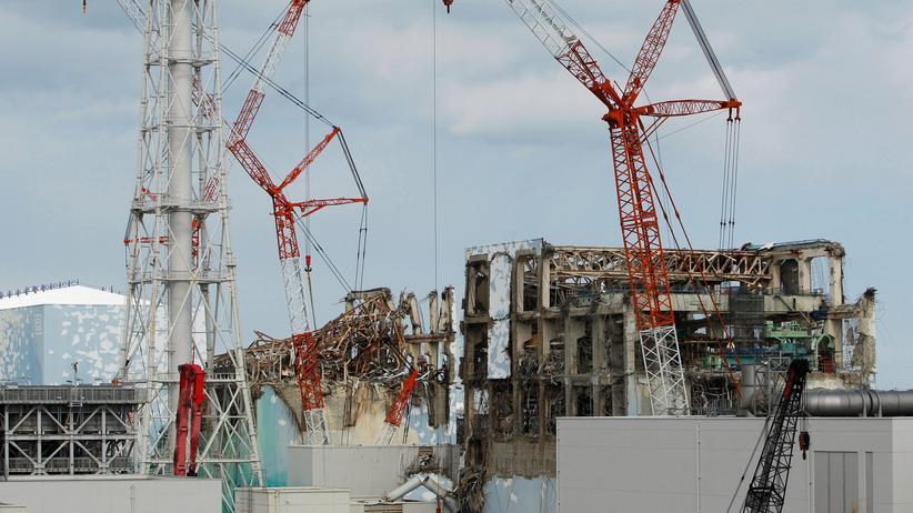 Fukushima: Die zerstörten Reaktoren von Fukushima, in der Mitte Reaktor drei