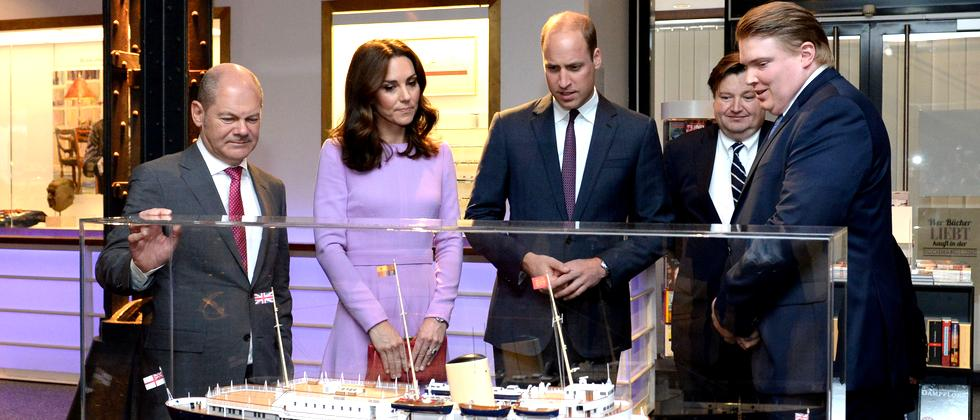 Kate Middleton Prinz William Herzogin von Cambridge Hamburg