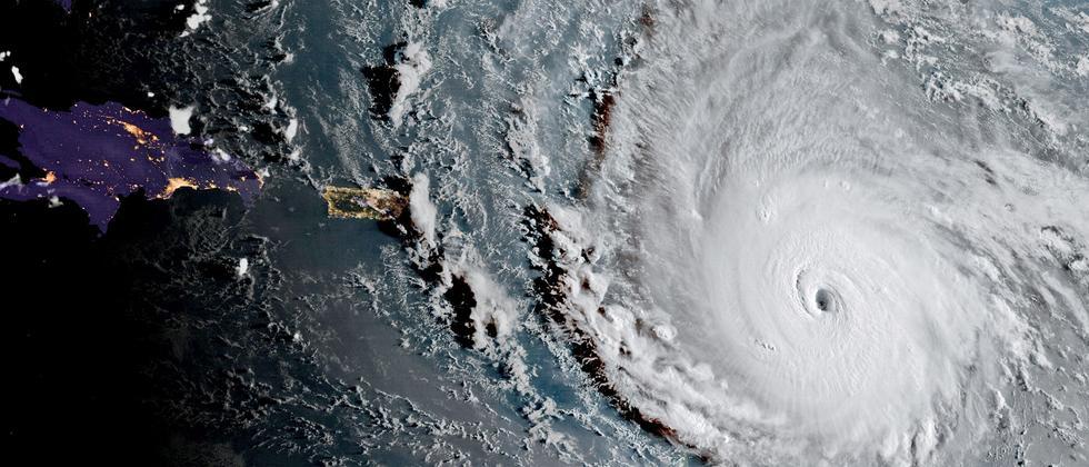 Hurricane Atlantik Irma